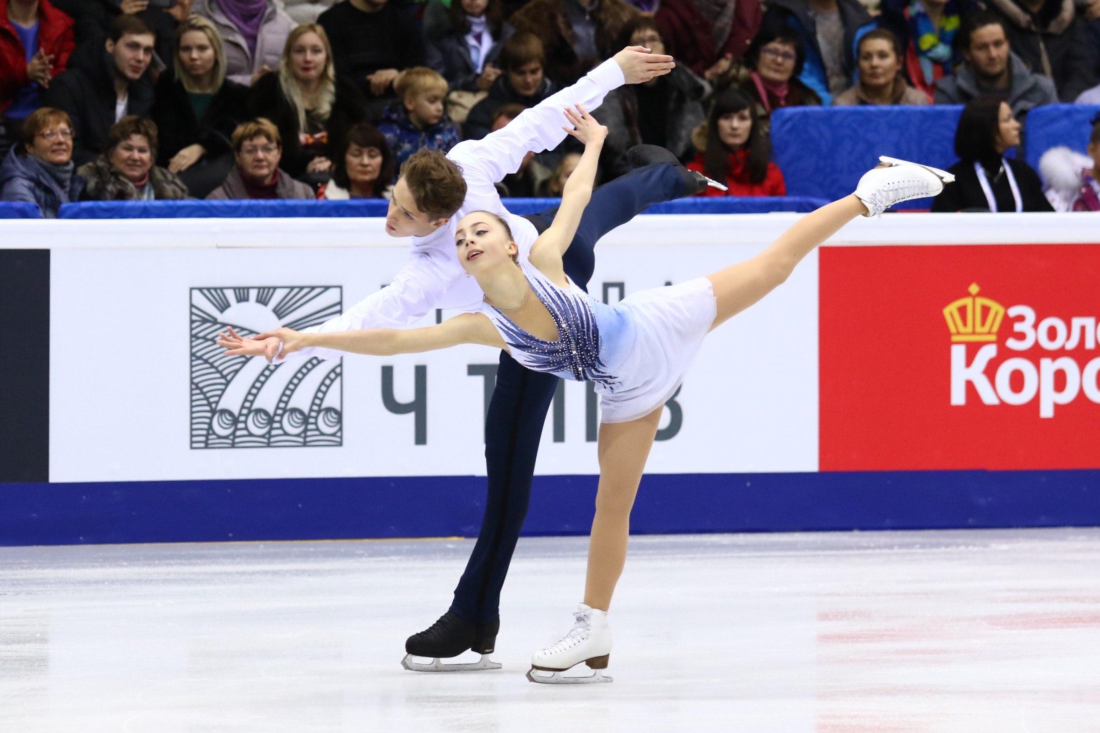 Александра Бойкова и Дмитрий Козловский (26.12.2016)