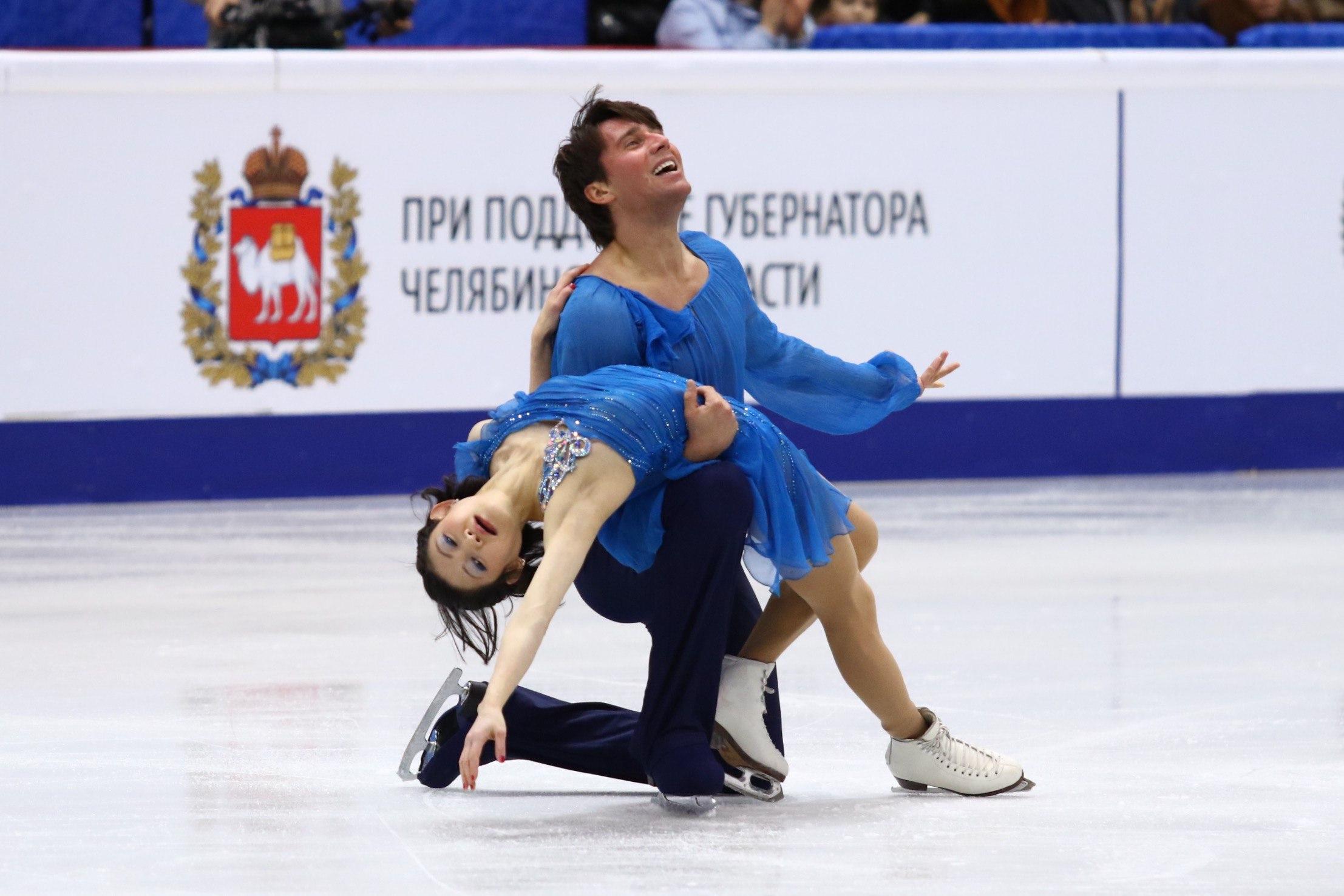 Юко Кавагути и Александр Смирнов (26.12.2016)
