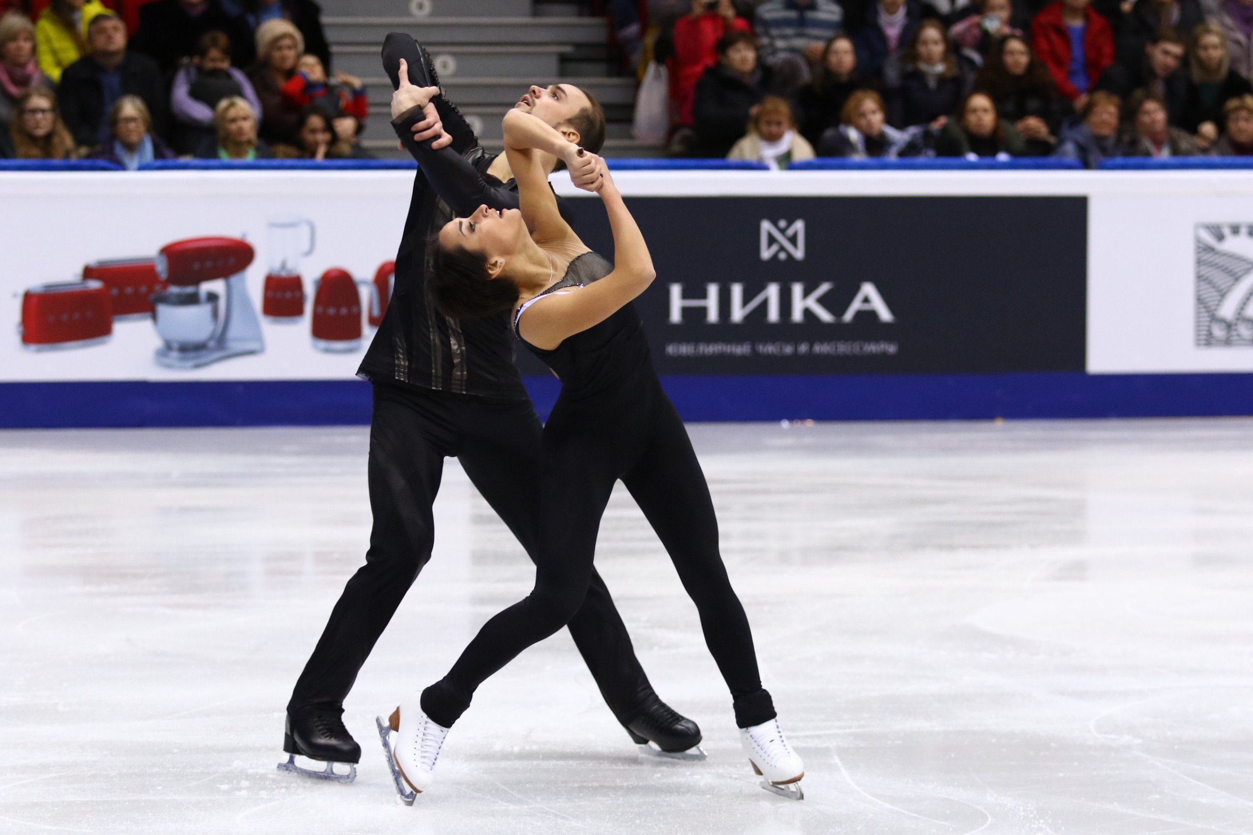 Победите в парном катании - Ксения Столбова и Федор Климов (26.12.2016)