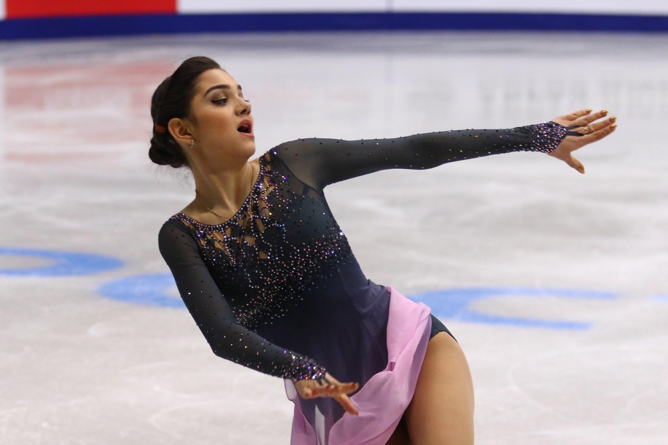 Евгения Медведева - чемпионка России (26.12.2016)
