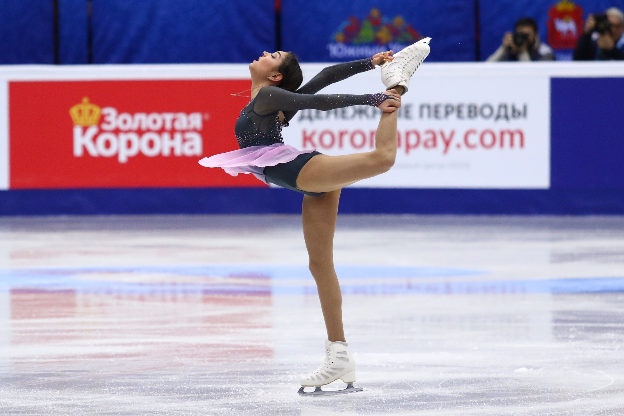 Евгения Медведева (26.12.2016)