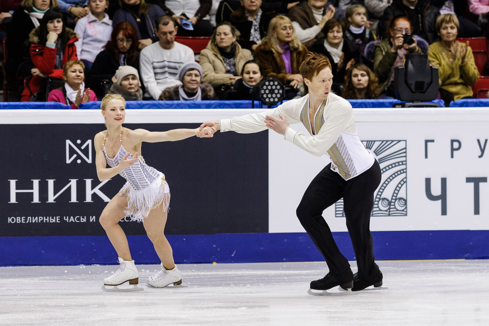 Евгения Тарасова и Владимир Морозов (26.12.2016)