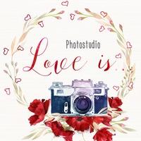 Логотип Интерьерная фотостудия Love is ... Самара