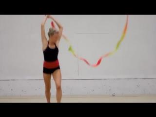 Как тренируются гимнастки