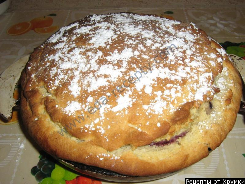 Пирог сметанный рецепт пошагово в духовке