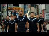 Сборная Новой Зеландии по регби в Японии - ALL BLACKSが東京に出現? #TackleTheRisk #AllBlacks | AIG JAPAN