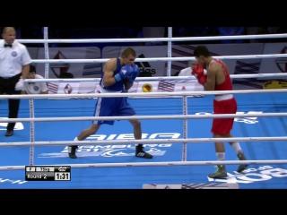 Финал: до 75 кг. Александр Хижняк (Украина) — Абильхан Аманкул (Казахстан)