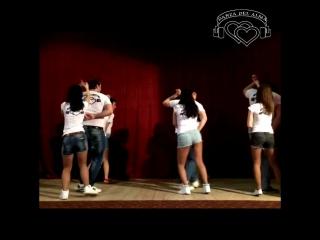 Благотворительный концерт в Военном Госпитале (Танцевальная студия Danza del AlMa)