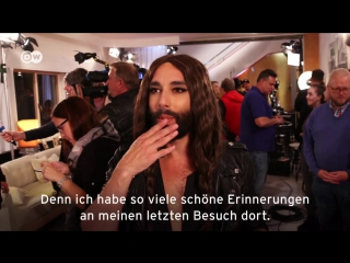 Conchita Wurst at the 'Privatkonzert' -
