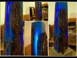 Eiszeitice age Lichtskulptur light sculpture resin ToSaLignea
