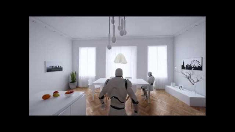 UE4Arch - Archviz interior character test