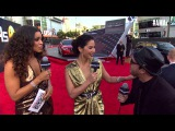 Olivia Munn Red Carpet Interview - AMAs 2014