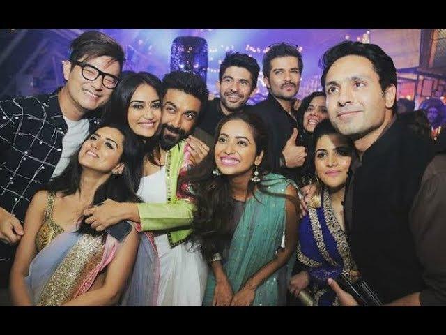 Tv Actress Actors Diwali Party 2017 - Asha Negi, Sanaya Irani, Aarti Singh, Surbhi Jyoti, Iqbal Khan