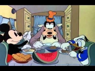 Mickey Mouse - La Remorque de Mickey (1938)