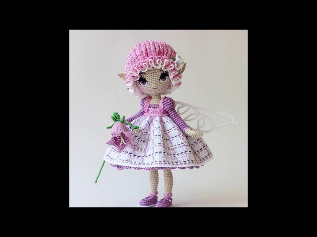 Авторские вязаные крючком куклы амигуруми от @a_dudakova
