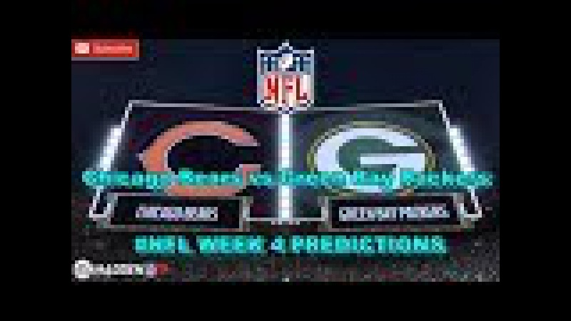 Chicago Bears vs Green Bay Packers | NFL WEEK 4 | Predictions Madden 18