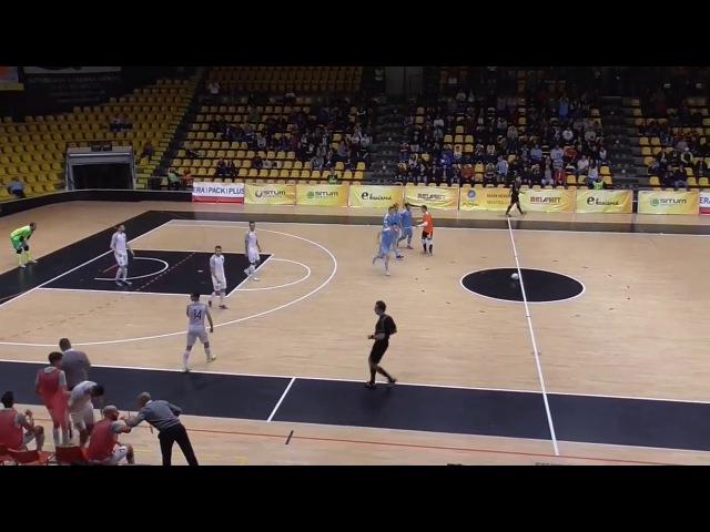 UEFA Futsal Cup   SK Slovan Bratislava (SVK) 4-6 ZVV 't Knooppunt (NED)