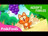 The Fox and the Grapes Aesop's Fables Pinkfong Story Time for Children