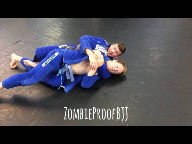 TOP SECRET Backtake Detail To Get The Second Hook - ZombieProof Brazilian Jiu-Jitsu / Gi Techniques