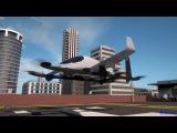 Aurora Flight Sciences' Electric VTOL Aircraft