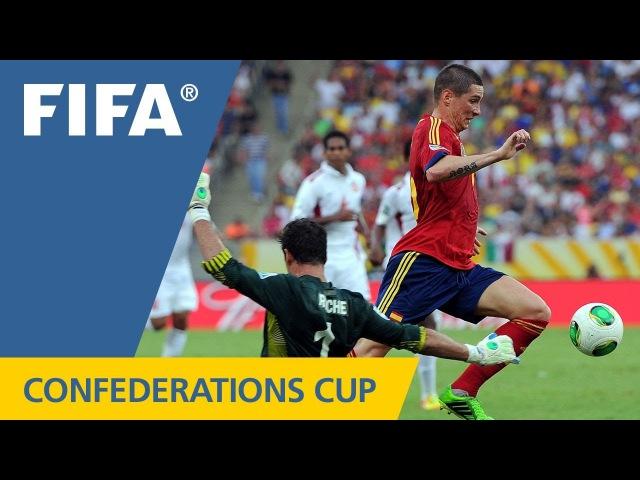 Spain 100 Tahiti, FIFA Confederations Cup 2013
