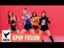 BLACKPINK Whistle 휘파람 Areia Kpop Fusion 16 REMIX