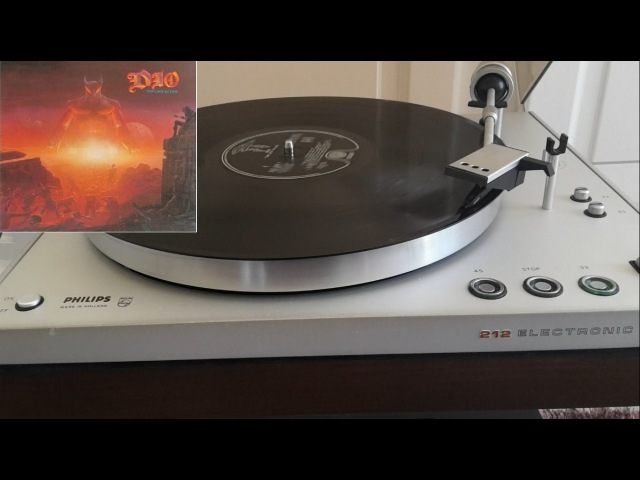 DIO The Last In Line Side 1 Vinyl rip 1080p