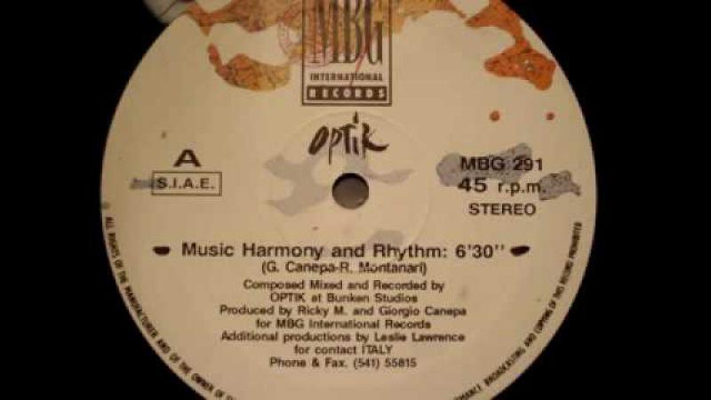 Optik Music Harmony and Rhythm