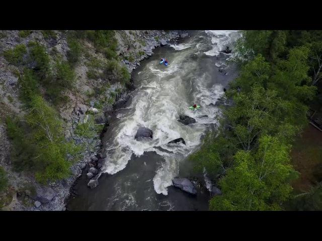 река Урсул, Горный Алтай. Каякинг и пейзажи.