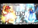 [What-If] Super Saiyan 4 Gogeta VS Super Saiyan Blue Vegito.