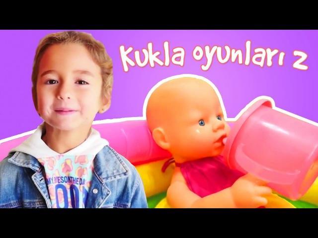 Evcilik Oyunları Bebek banyo yapma oyunu Anne bebek oyunu Oyuncak bebek Oyun parkı