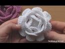 Crochet Flower Rose VERY EASY Tutorial 2