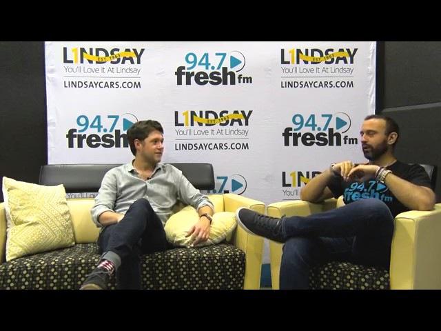 Интервью Найла для 94.7 Fresh FM