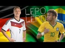 Neymar Schweinsteiger Lepo Lepo Dance Song by Psirico Pitbull World Cup 2014