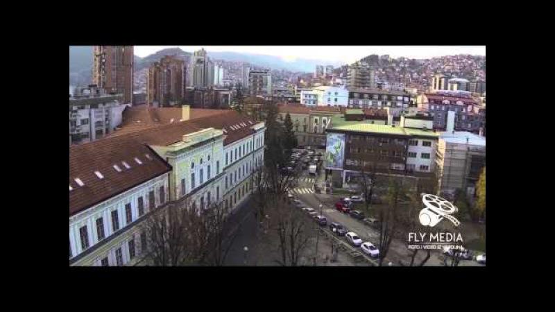 Grad Užice - Snimak iz vazduha