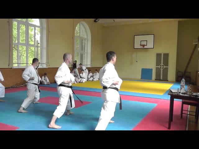 Аттестация по Каратэномичи 17 Мая 2015 1 Attestation of Karatenomichi on May 17 2015 Part 1