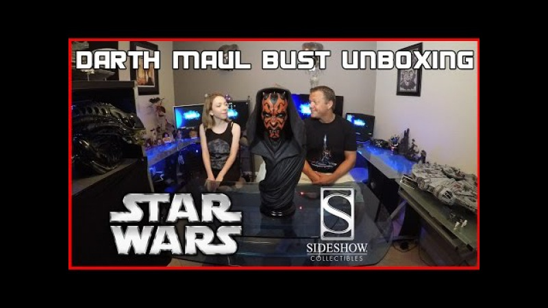 Sideshow Collectibles Darth Maul Artist Proof Bust (1/2 scale)   Guru Reviews