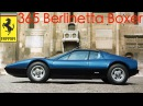 BLAST FROM THE PAST - Ferrari 365 Berlinetta Boxer. 1988 Footage.