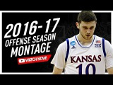 Sviatoslav Mykhailiuk Kansas Junior Offense Highlights Montage 20162017 - Manu Like!