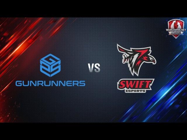 World of Tanks - Gunrunners.AOC vs Swift - WGLEU S2 2016-2017 - Matchday4