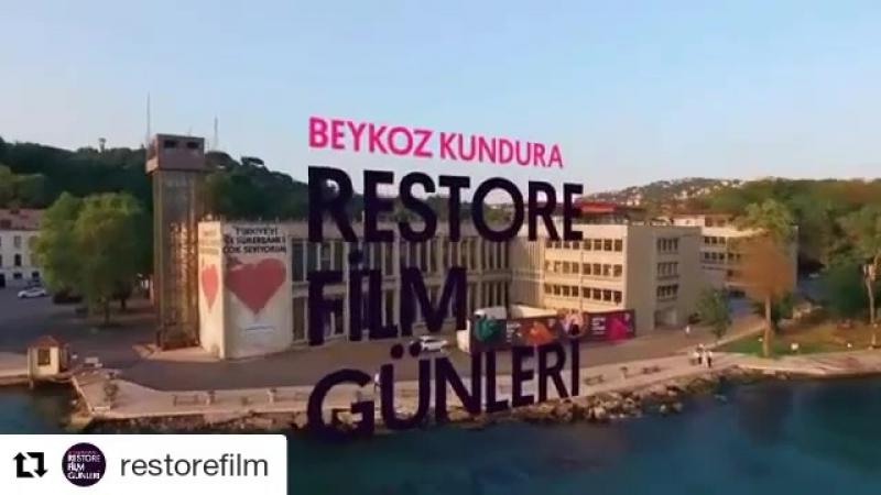 Restore Film Günleri. Beykoz Kundura Fabrikası. İstanbul 2017.