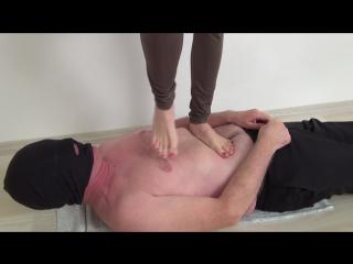 Loren - throat and full body hard trampling