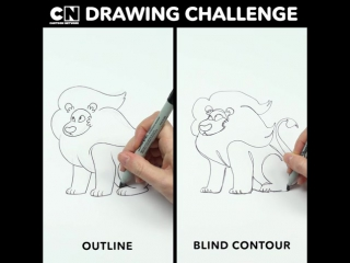 Can you spot the difference between the drawing styles? ✍️