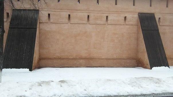 Стены с подпоркой. По-русски.
