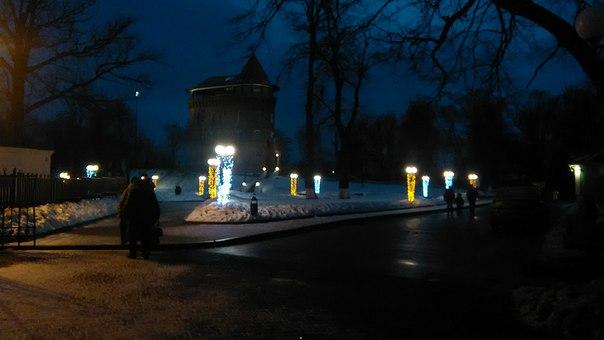 Знаменитая водонапорная башня (о, знали бы вы как во Владимире была ценна вода до прихода советской власти), обращённая в музей города.