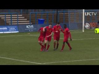 Гол Бенджамина Вудбёрна в ворота «Хаддерсфилд Таун - U23».