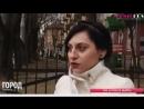 Девушка едва не попала под автобус в Калининграде