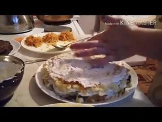 Цыганский печёночный торт
