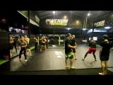 Школа бокса Good Old Boxing - Отработка нырков и ударов в ближнем бою(10.04.17)