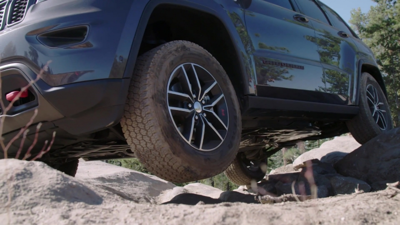 Jeep Grand Cherokee Trailhawk ¦ Rubicon Trail ¦ Trail Rated® Capability